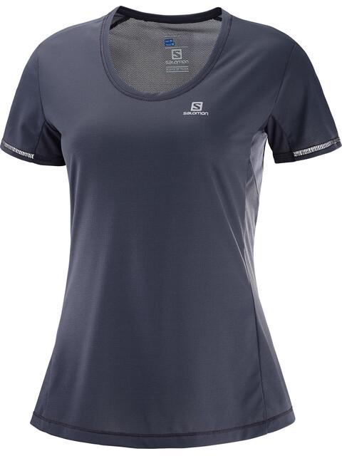 Salomon Agile - T-shirt course à pied Femme - gris